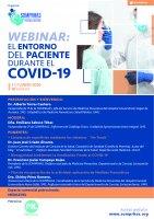 Webinar El entorno del paciente durante el COVID 19